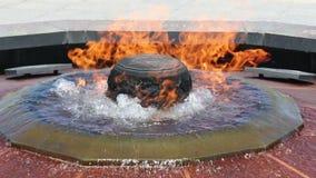 Centennial flame Ottowa stock video footage