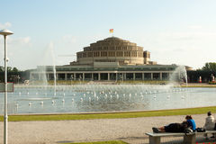 Centennial Hall Wroclaw - Poland Royalty Free Stock Photography
