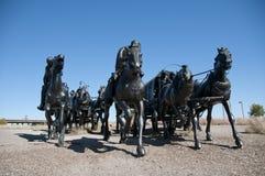 Centennial Land Run Monument royalty free stock photos