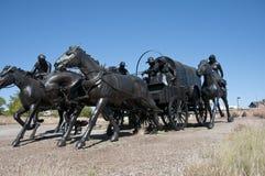 Centennial Land Run Monument Stock Photography