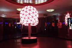Centennial New Years Eve Ball Royalty Free Stock Photos