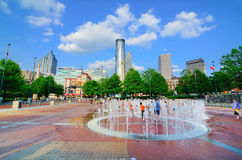 Centennial-Olympic Park Royalty Free Stock Photography