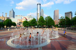 Centennial-Olympic Park Stock Photo