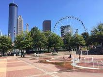 Centennial Olympic Park, Atlanta, GA. Royalty Free Stock Images