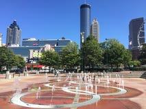 Centennial Olympic Park, Atlanta, GA. Royalty Free Stock Photo