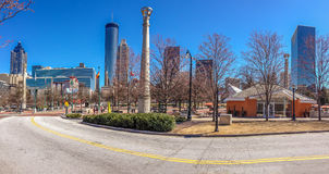 Centennial Olympic Park Royalty Free Stock Photo