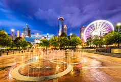 Centennial Olympic Park Royalty Free Stock Photos