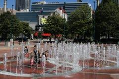 Centennial Olympic Park, Atlanta, GA. stock images