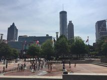 Centennial Olympic Park Royalty Free Stock Images