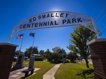 Centennial Park at Stroud Area in Oklahoma - STROUD - OKLAHOMA - OCTOBER 16, 2017. Photography Royalty Free Stock Photos
