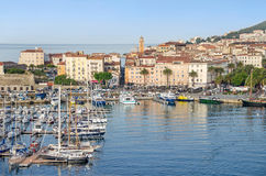 Center of Ajaccio Stock Images