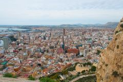 Center of Alicante in Spain Stock Photography