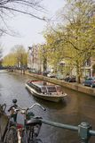 In the center of Amsterdam Royalty Free Stock Photo