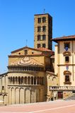 Center Of Arezzo stock images