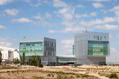 Center for Art and Technology in Zaragoza Stock Images