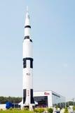 center avstånd u för raket s Royaltyfria Bilder