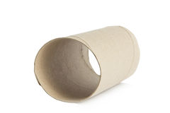 Center axis of tissue paper roll Royalty Free Stock Photo
