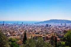 Center of Barcelona Royalty Free Stock Photo