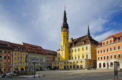 Center of bautzen Stock Image