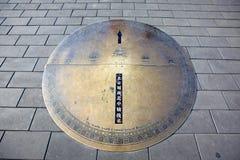 Center of beijing Royalty Free Stock Photo