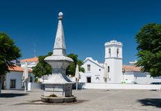Center of Beja in southern Portugal Royalty Free Stock Photos