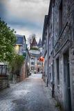 Center of  belgian town Durbuy Royalty Free Stock Photo