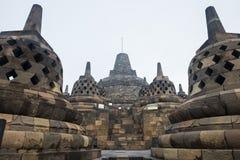 Center of Borobudur main stupa Royalty Free Stock Image