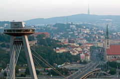 Center of Bratislava, Slovakia Royalty Free Stock Image