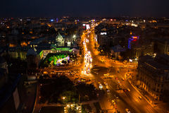 Center of Bucharest Stock Photography