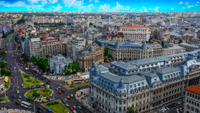 Center of Bucharest in the morning. royalty free stock photography