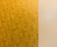 In center capital Thailand, fabric gold. Fabric gold handmade by citizen Royalty Free Stock Photo
