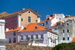Center of city Lisbon Stock Image