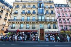 The center city near Notre-Dame de Paris. Center city near Notre-Dame de Paris Royalty Free Stock Photo
