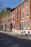 Center city neighborhood. A center city neighborhood in Philadelphia PA Stock Image