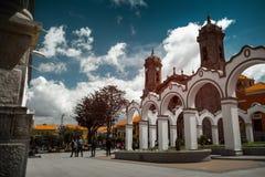 Center of the city of Potosi. Bolivia stock photography