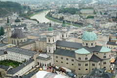 Center of City Salzburg, Austria Stock Photography