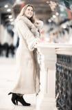center clothing trade winter woman young Στοκ εικόνες με δικαίωμα ελεύθερης χρήσης