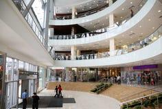 center commercial Arkivfoton