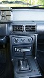 Center Console and Gear Stick Royalty Free Stock Photography