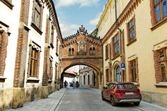 Center of Cracow. Stock Photography
