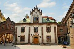Center of Cracow. Stock Photos