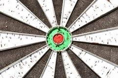 center dartboard royaltyfri bild