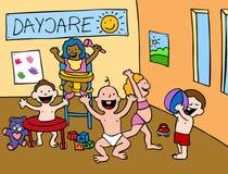 center daycare Arkivfoto