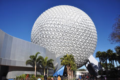 center disney epcot Royaltyfria Foton