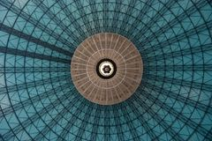Center Dome. Round pattern from center of dome royalty free stock photos
