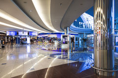 center dubai internationell shoping sikt Arkivbild
