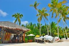center exotisk lyxig sport för strand Royaltyfri Foto