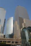 center finansiell värld Arkivfoton
