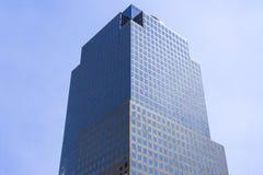 center finansiell värld två Fotografering för Bildbyråer