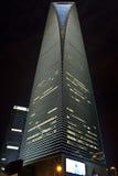 center finansshanghai värld Royaltyfri Bild